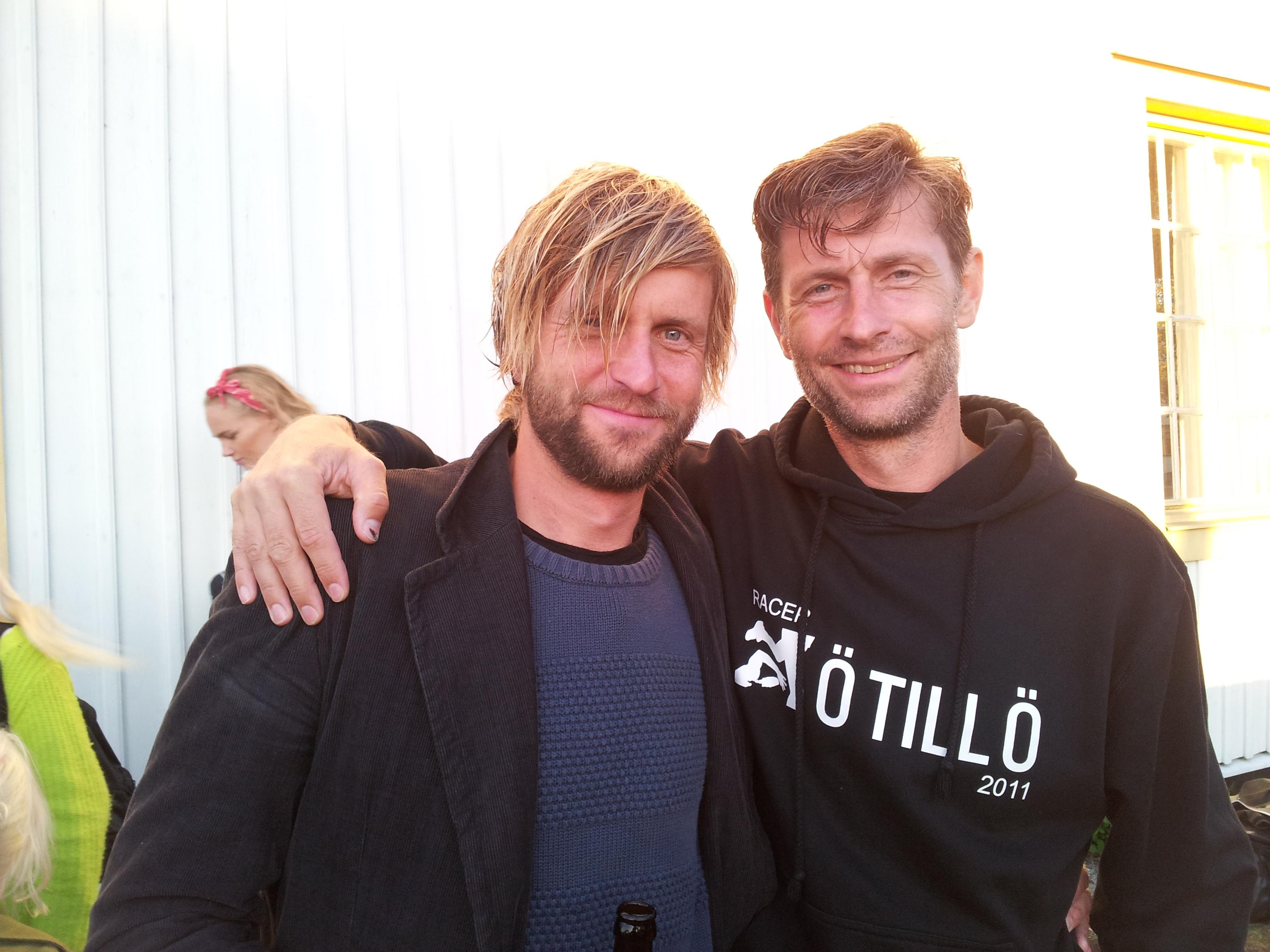 Jesper et Mats Andersson