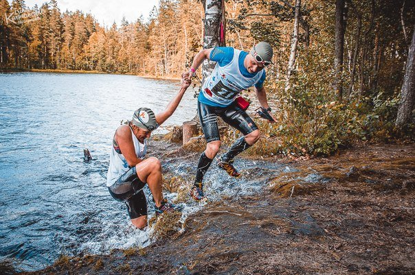Swimrun de lac en lac en Russie © Lake-to-Lake