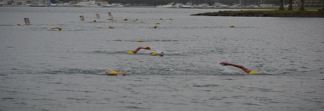 California swimrun March 2016 swim
