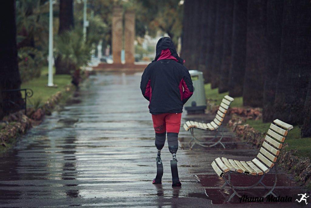 prothèses jambes Élise Marc