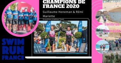 Guillaume Heneman et Rémi Mariette Champions de France de swimrun 2020
