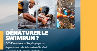 Stop à la dénaturation du swimrun