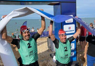 Fabien Besançon et Pierre Massonneau remportent les championnats de France de swimrun 2021